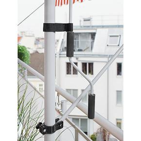 Teleskopik Tente Turuncu-Beyaz 250x150 cm