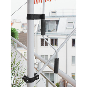 Teleskopik Tente Turuncu-Beyaz 300x150 cm