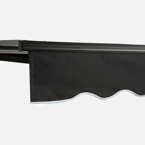 Polyester Tente Antrasit 400x250 cm