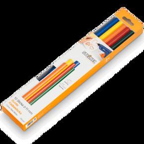 Color Yapıştırıcı Çubuklar 11x250Mm  250Gr