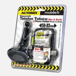 Automix Telefon Tutucu Bas-Bırak