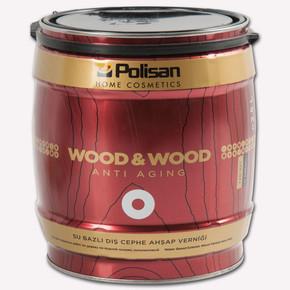 2,5 lt Dış Cephe Ahşap Vernik Ceviz Y.Mat Subazlı Wood&Wood