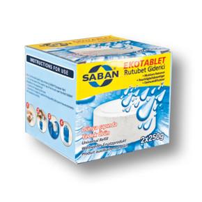Saban Yedek Tablet 2*250gr Naturel