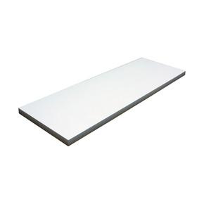 Endpa Ebatlı Ahşap Raf Beyaz 20x60 cm