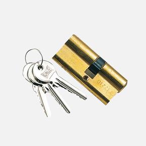 Süper Cerman Barel Çelik Pimli 76 mm Sarı