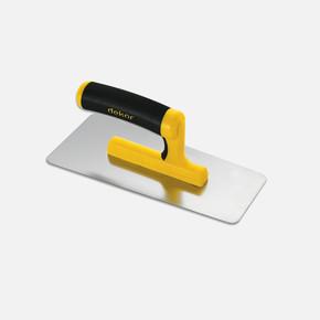 Efek Malası Polisajlı Açık Plastik sap Paslanmaz Çelik 24 cm