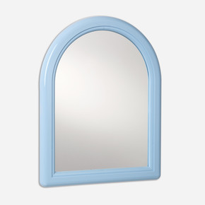 Truva Mini Kubbeli Ayna Beyaz