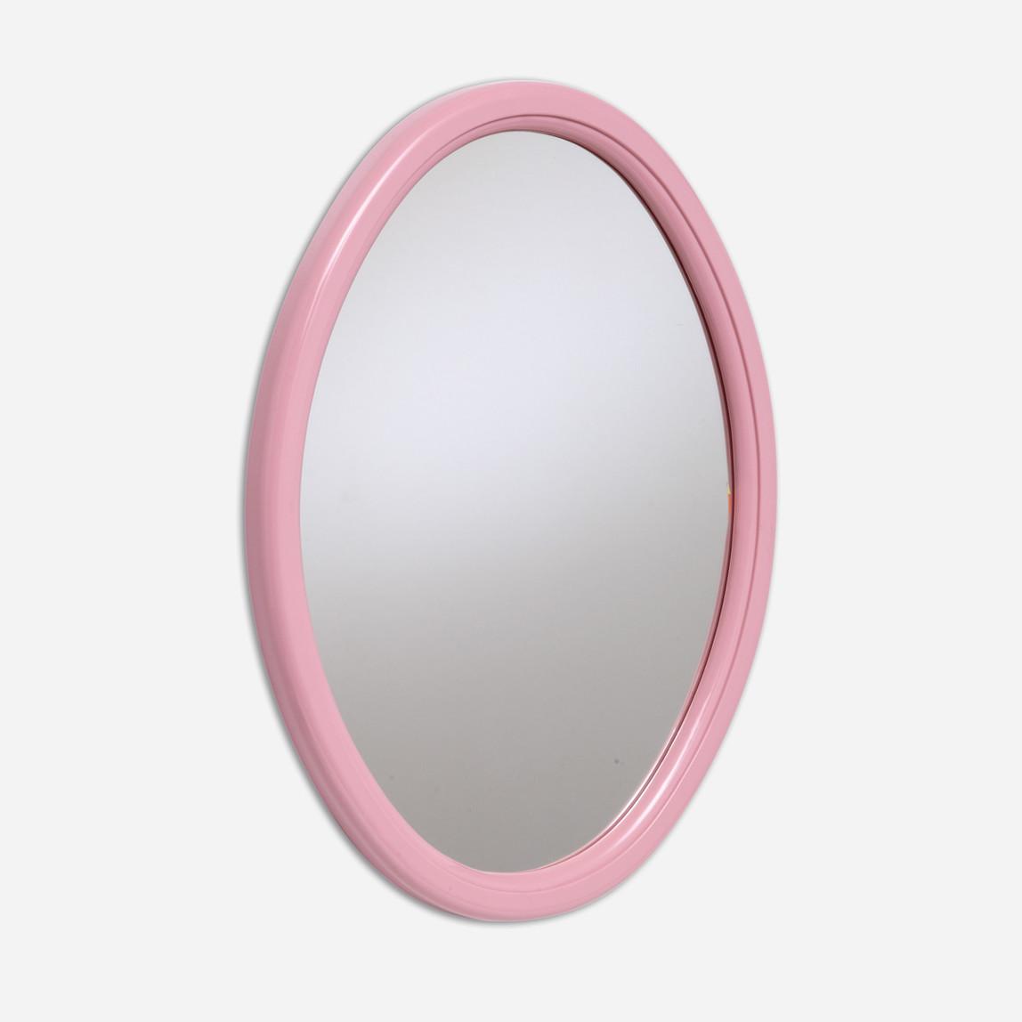 İnci Kubbeli Oval Ayna