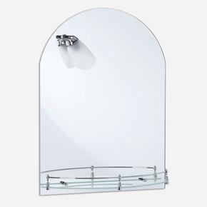 Kubbeli Aplikli Korumalı Etejerli Ayna