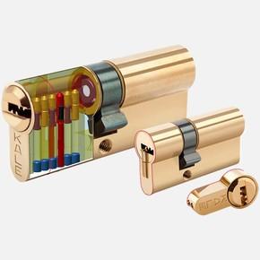 Tuzaklı Süper Çelik Pimli Bare Üç Anahtarlı 68mm