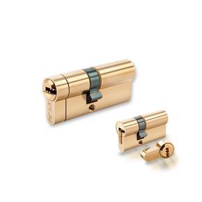 Kale Tuzaklı Sistem Çelik Pimli Barel Parlak Nikel 68 mm