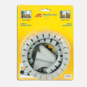 Mutlusan Kablo Toplayıcı Set 22 mm