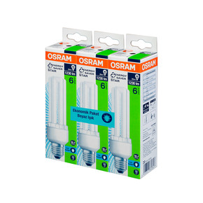 3'Lü Eco.Paket Enerji Tasarruflu Ampul 20W Beyaz