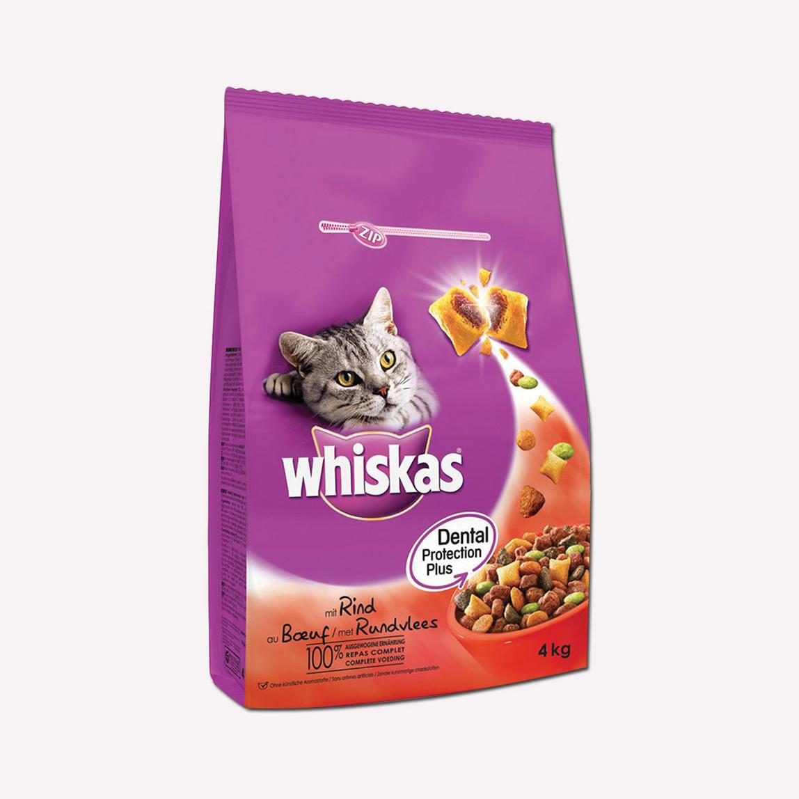 Whiskas Biftekli Kuru Kedi Maması 3.8 kg