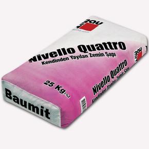 Baumit Nivello Quattro 25kg Kendinden Tesviye Alan Şap