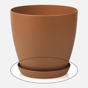 Saksı Tabağı Begonya Kahve 1,5lt