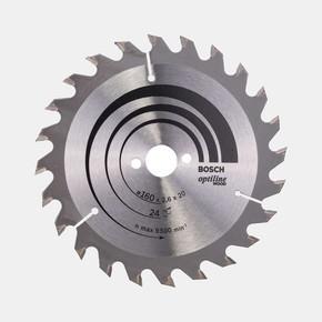 Optiline Daire Testere Bıçağı   160X16 mm  24 Diş