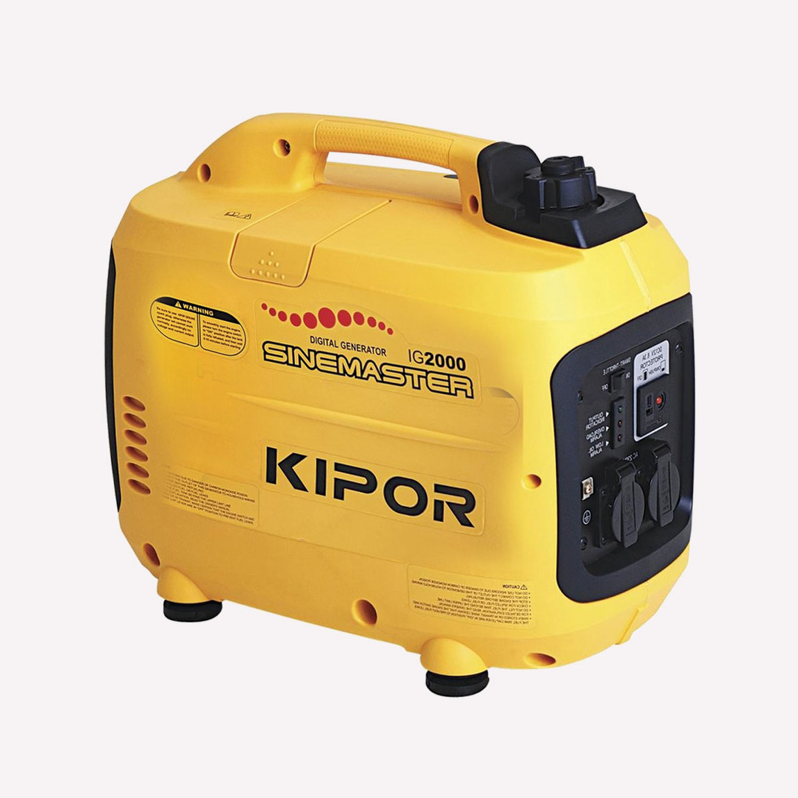 Kipor IG2000 2 KVA Dijital İnvertörlü Benzinli Jeneratör