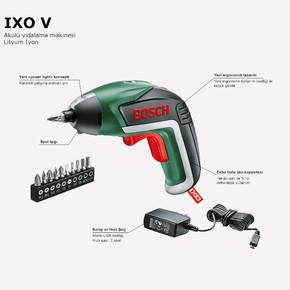 Bosch IXO V 3.6V Akülü Vidalama