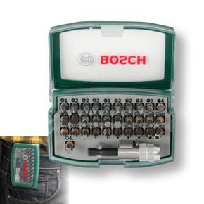 Bosch 32 Parça Vidalama Ve Bits Seti