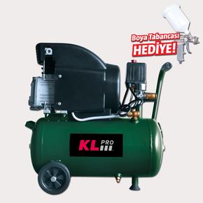 KL Pro KLK25 2Hp 24 Litre Hava Kompresörü