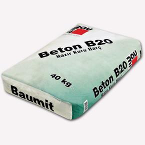 Baumit Beton B20 40Kg Hazır Kuru Harç