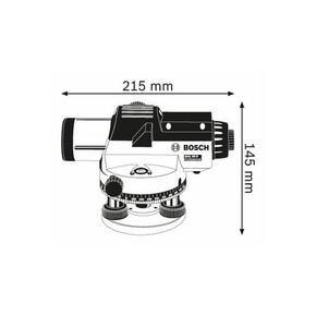 Bosch Gol20D Nivo Optik Hizalama