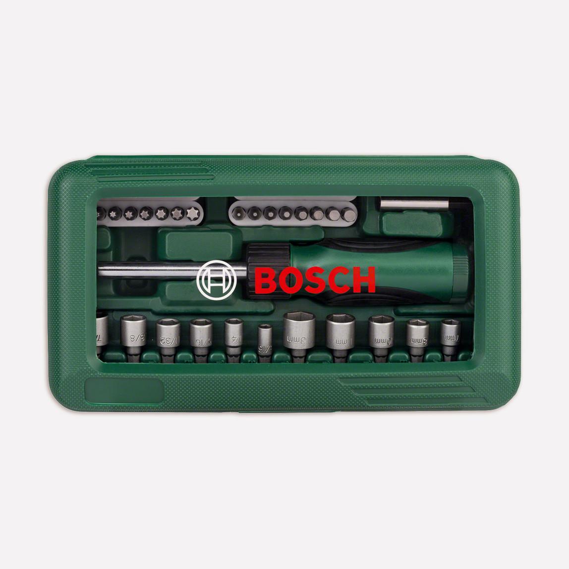 Bosch 46 Parça Cırcırlı Tornavida Seti