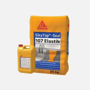 Sikatop Seal 107 Elastik Çimento Esaslı Elastik Su Ve Nem Yalıtım Malzemesi Gri 30 kg Set