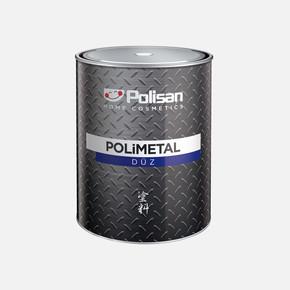 0,75Lt   Polimetal Düz Mat Siyah