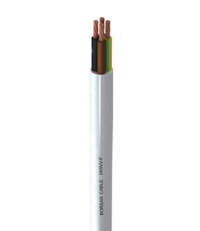 Borsan 2Gx1 50 Metre Kangal Ttr Kablo Beyaz