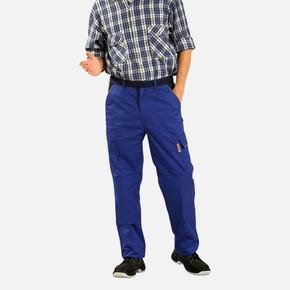 İş Pantolonu %100 Pamuk M Beden Saks Mavi