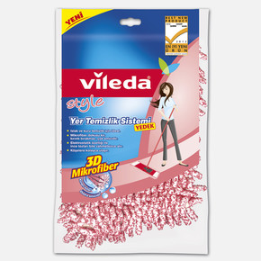 Vileda Style Mikrofiber Yer Temizlik Sistemi - Yedek