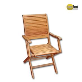 Sunfun Ahşap Kolçaklı Sandalye