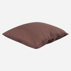 Smooth Yastık Kahverengi 70x70cm