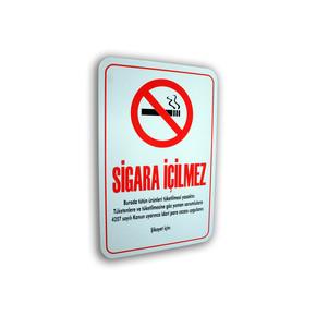 Pass Sigara İçilmez Levha