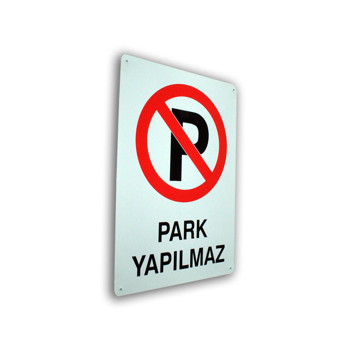 Pass Park Yapılmaz Levha