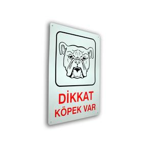 Pass Dikkat Köpek Var Levha
