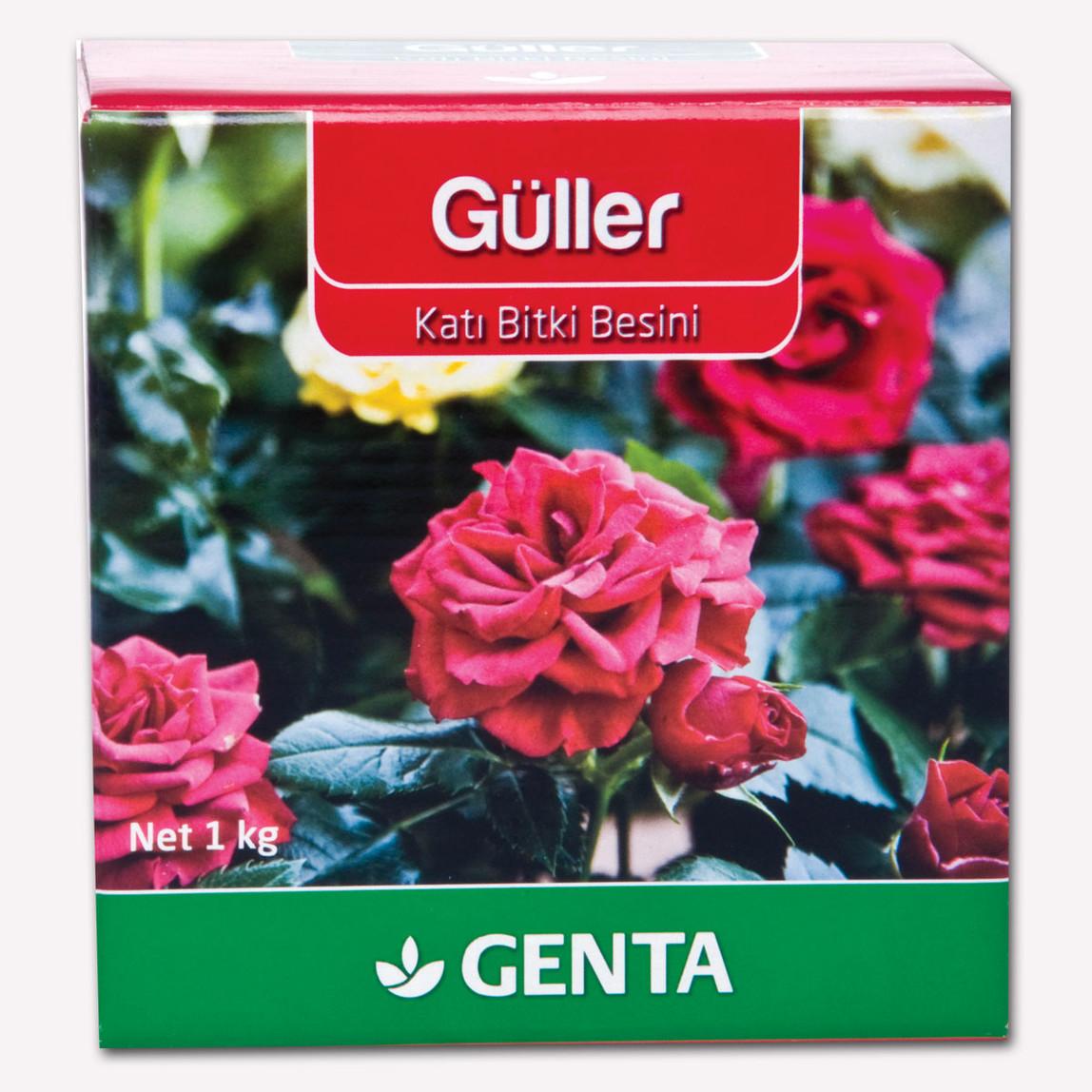 Genta Güller İçin Katı Gübre