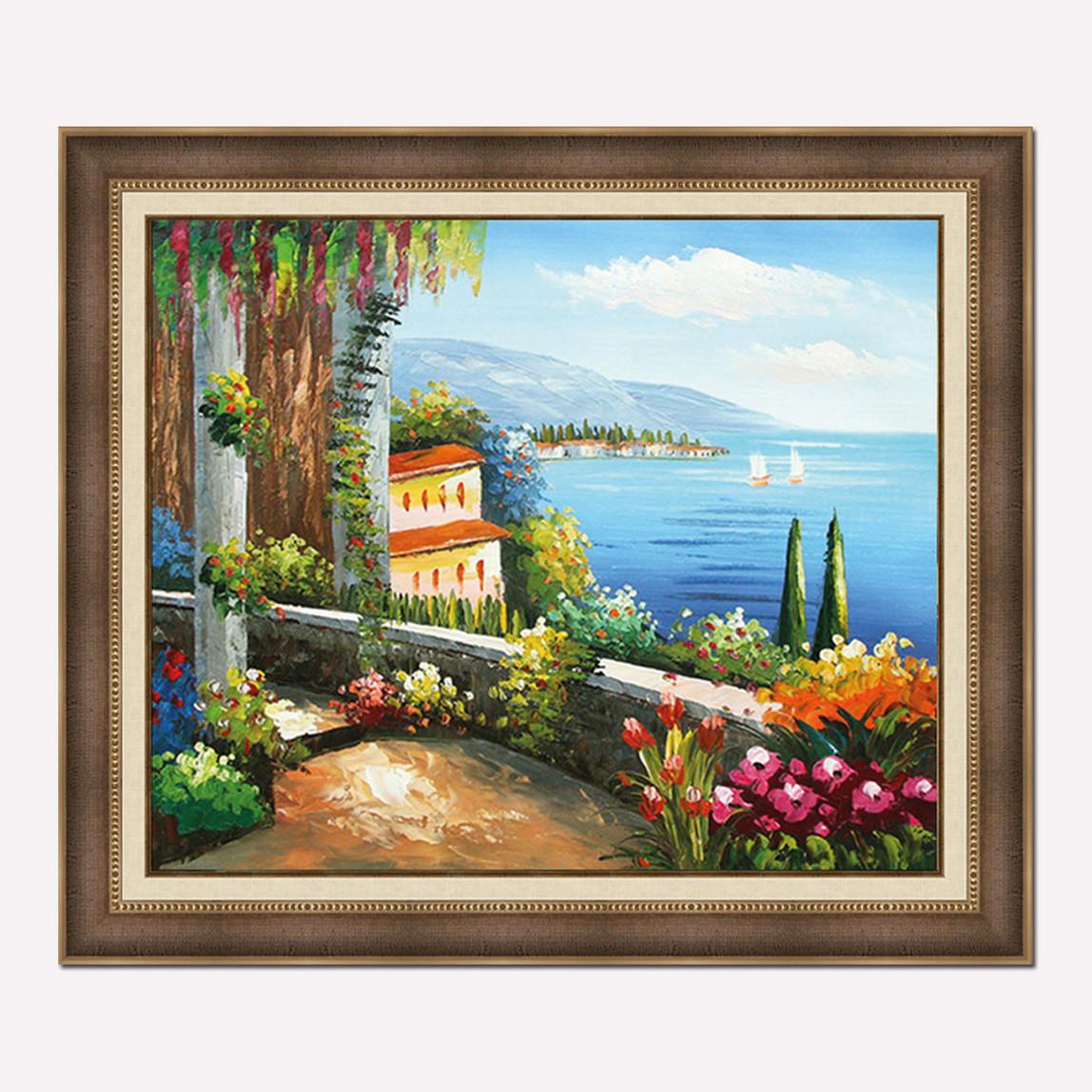 50x60 cm Çerçeveli Yağlı Boya Resim