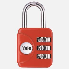 Yale Dar Tip Mini Şifreli Asma Kilit - Karışık Renkli - Blister