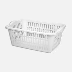 Plastik Düz Çamaşır Sepeti