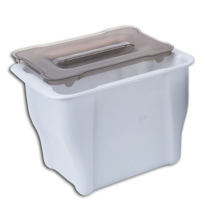 Pelikan Joker Çok Amaçlı Çöp Kovası Metalik Gri