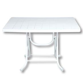 Hd-250 70X115 Cm Katlanır Ayaklı Masa Beyaz