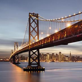 Bay Bridge 8 Parça Duvar Resmi