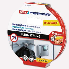 Powerbond Ultra Güçlü Çift Taraflı Montaj Bandı