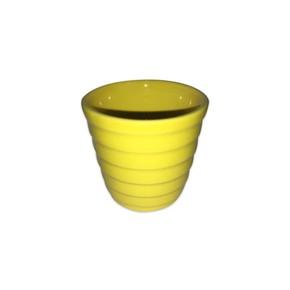 Mini Kaktüs Saksı Sarı