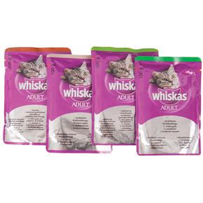 Whiskas Etli Seçenekli Multipack Yaş Yavru Kedi Maması 4'lü Paket