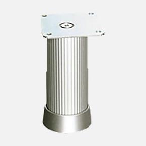 Alu.Çizgili Kareayak 40X40-8Cm Inox