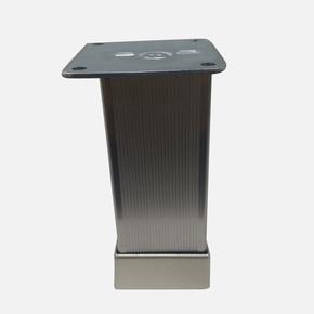 Alu.Çizgili Yuv.Ayak 40X40-5Cm Inox